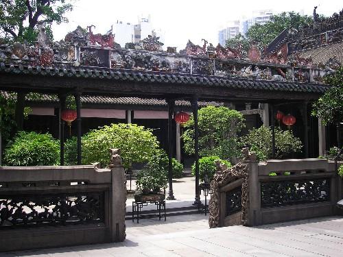 Descubrir el núcleo histórico de Guangzhou