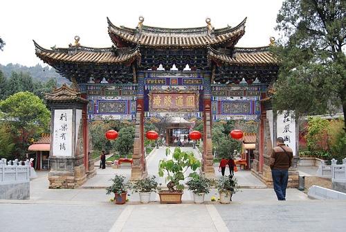 Templo dorado de Kunming