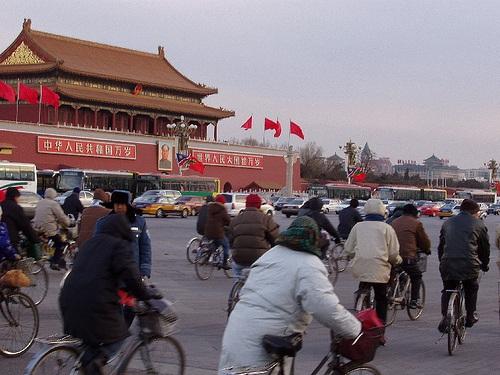 Bicicletas en Pekin