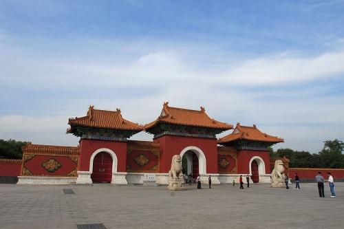 Puerta Roja en la Tumba Zhaoling