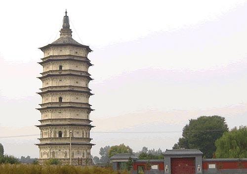 Pagoda de Wanbu Huayanjing en Hohhot
