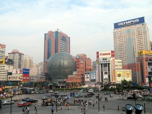 Xujiahui, para comprar electrónicos en Shangai