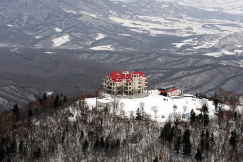 Resort de esquí Yabuli, el mejor de China