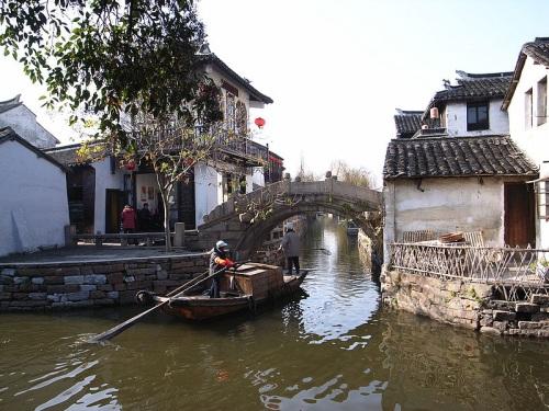 Canales en Zhouzhuang